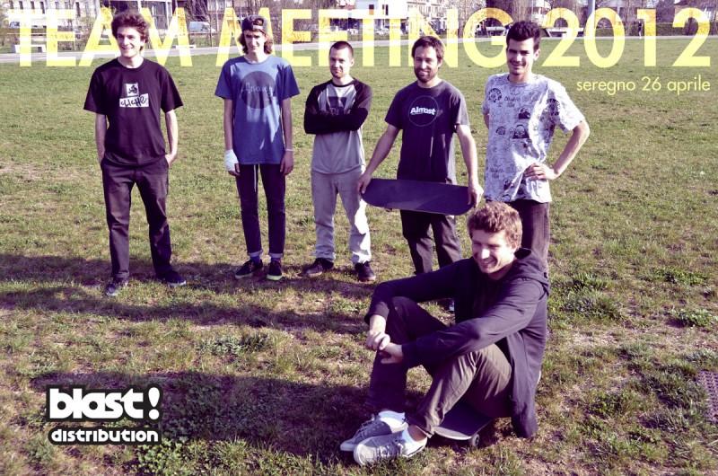 Mauro Caruso, Guido Stazi, Fabio Colombo, Daniele Galli, Marco Balestreri, Carlo Cassan - Blast Team Meeting