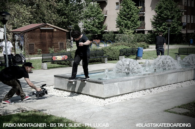 Fabio Montagner BS Tail Slide ph. Luca Basilico