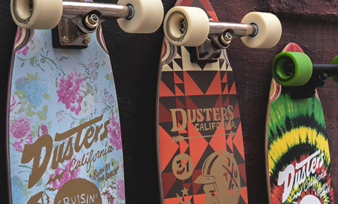 Longboard e cruiser Dusters California