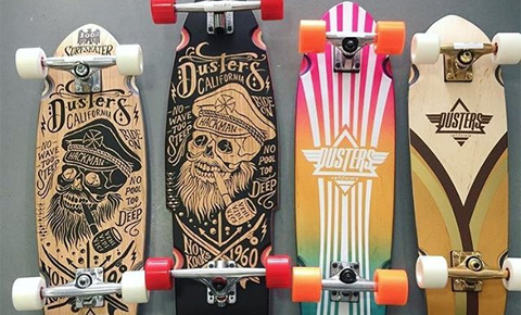 Dusters California longboard cruiser penny