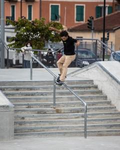 Luca Bonetti in FS Feeble - ph. Federico Romanello