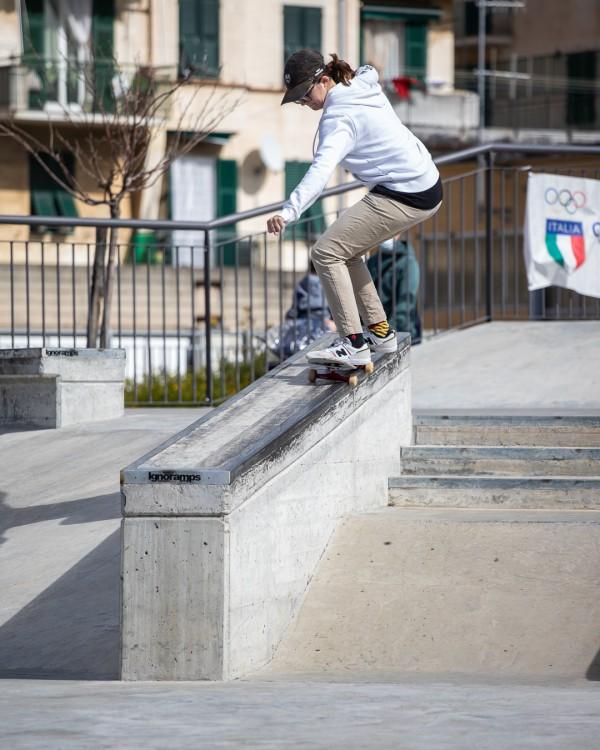 Asia Lanzi in FS 50-50 - ph. Federico Romanello