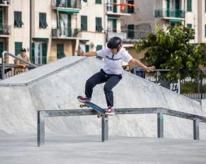 Lucrezia Zarattini in Boardslide - ph Federico Romanello