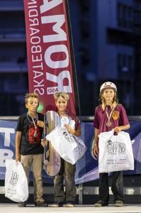 Il podio della categoria Kid al CIS Park 2021. Ph: Piero Capannini