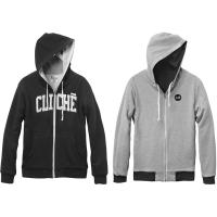 College Reversible Custom Zip black