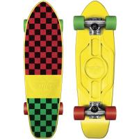 Mighty Yellow Rasta Checker 25