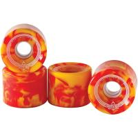 Spin Softie Red Yellow 65mm